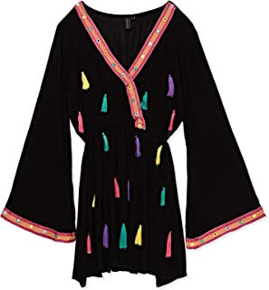 South Beach Beach Dress for Women - Black