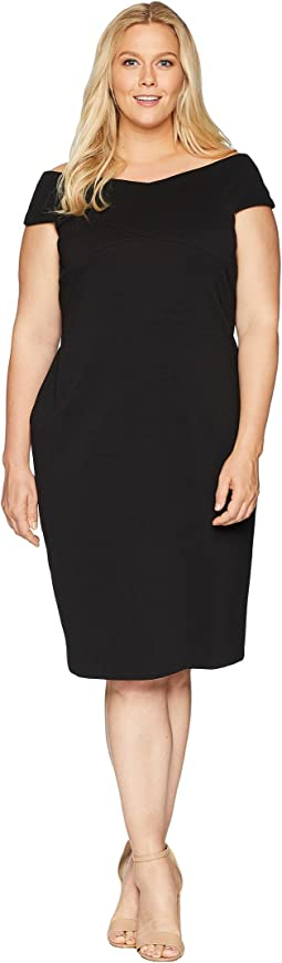 Plus Size Daphne Ottoman Sheath Dress