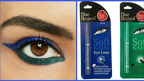 Blue Heaven Combo of Soft Kajal (Blue) & Soft Kajal (Green) product image