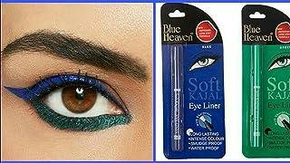 Blue Heaven Combo of Soft Kajal (Blue) & Soft Kajal (Green)