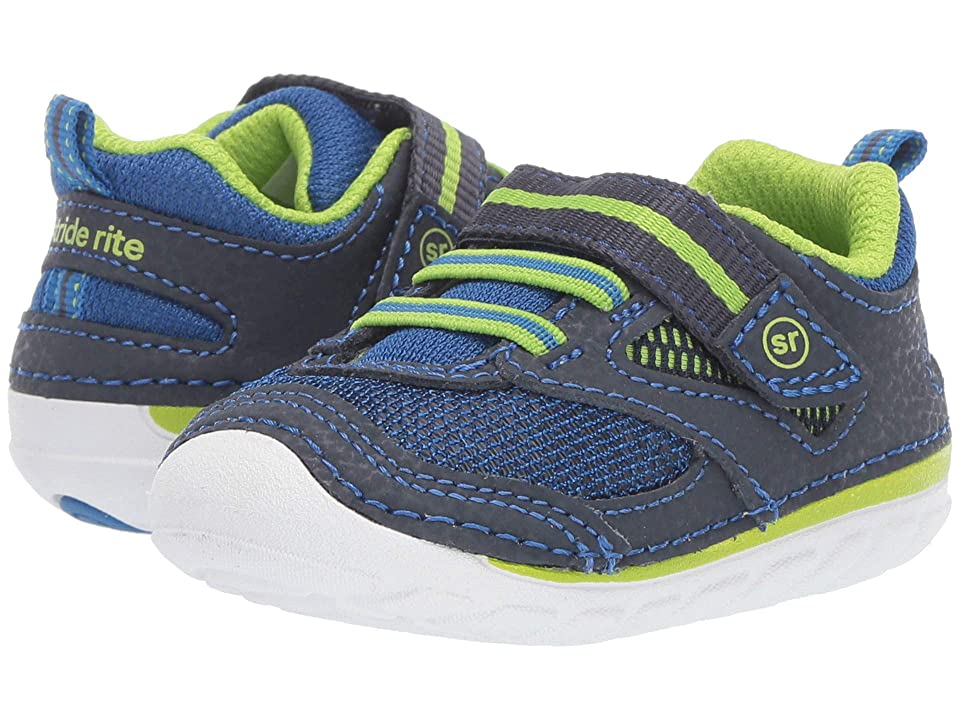 Stride Rite SM Adrian (Infant/Toddler) (Navy) Boys Shoes