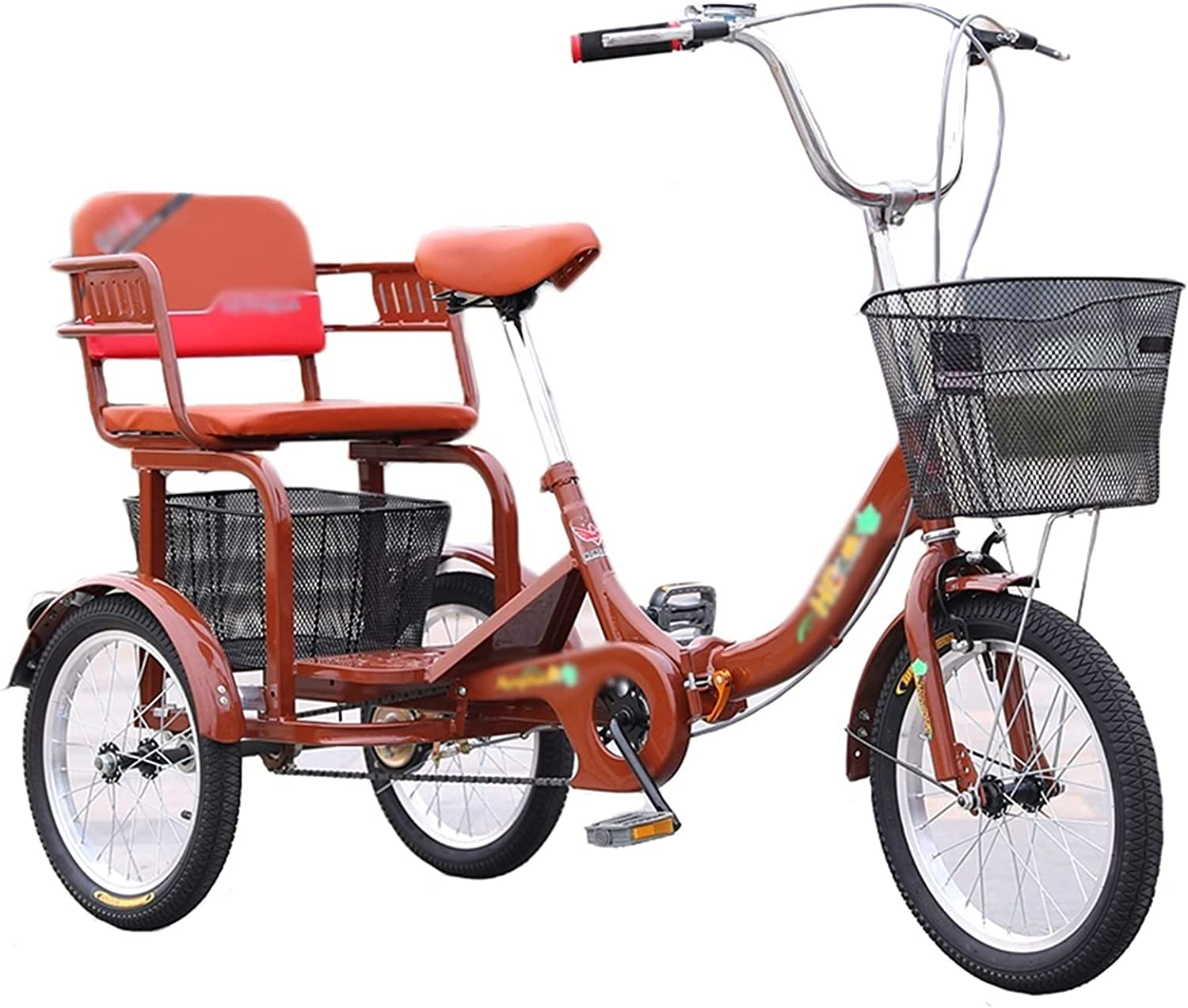 YXYH Stable Folding Adult Tricycles 16 Inch Trike Speed Adjust Super Save money Special SALE held 1