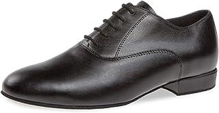 Diamant Hommes Chaussures de Danse 180-075-028 - Cuir Noir - 2 cm Standard - Made in Germany