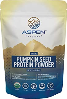 Organic Pumpkin Seed Protein Powder - Vegan Protein Powder, Plant Based, Gluten Free, Rich in Amino Acids & Essential Fatt...