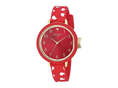 Kate Spade New York Park KSW1483 (Red/White) Watches