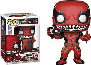 Funko Venompool w/ Phone (GameStop Exclusive): Marvel - Contest of Champions x POP! Marvel Vinyl Figure & 1 POP! Compatible PET Plastic Graphical Protector Bundle [#302 / 26846 - B]