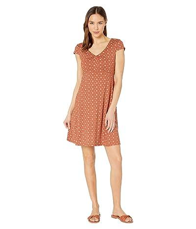 Toad&Co Rosemarie Dress (Coconut Shell Bandana Print) Women