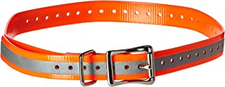 SportDOG Brand 3/4 Inch Collar Straps - Waterproof and Rustproof - Tighlty Spaced Holes for Proper Fit - Multiple Color Options