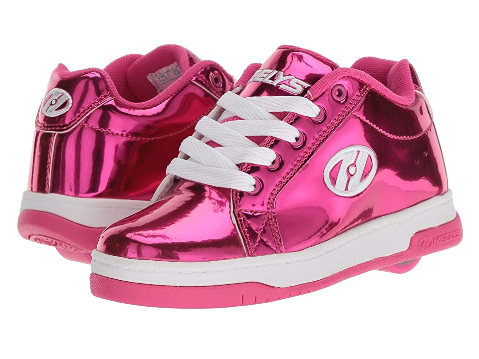 Heelys Split (Little Kid/Big Kid/Adult) (Hot Pink Chrome) Kids Shoes