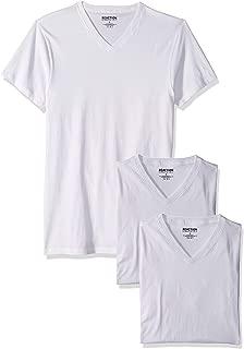 Men's Cotton Stretch V Neck T-Shirt, 3 Pack