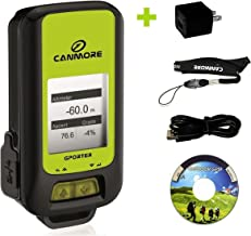G-PORTER GP-102+ (green) Multifunction GPS Device/ Sport Tracker - USB Charger (US) Bundle