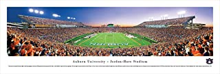 Auburn Tigers Football - End Zone - Blakeway Panoramas College Sports Posters