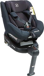 Maxi-Cosi Beryl 8028671110 - Silla coche isofix Grupo 0+/1/2, contramarcha y reclinable, crece con el niño desde nacimiento hasta 7 años, color negro (essential black)