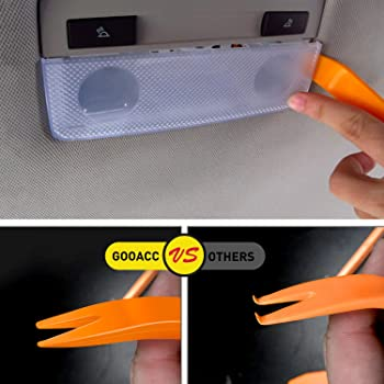 GOOACC 240PCS Bumper Retainer Clips Car Plastic Rivets Fasteners Push Retainer Kit Most Popular Sizes Auto Push Pin R...
