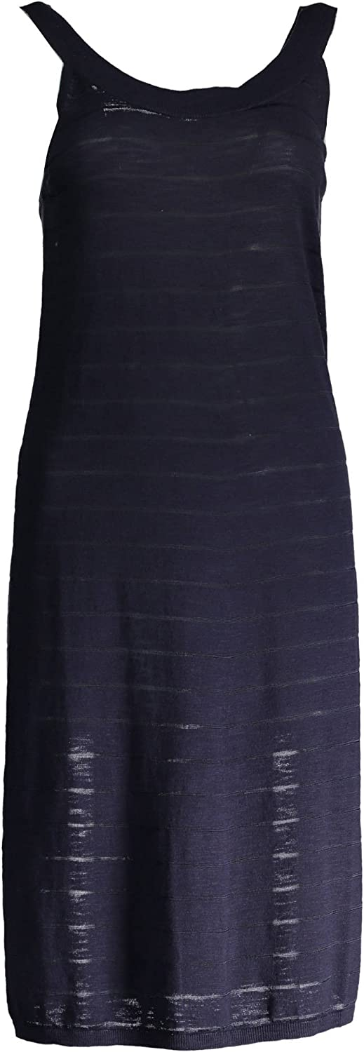 Gant Womens Sleeveless Dress  Navy