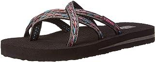 6907c590491ec6 Teva Women s Olowahu Flip-Flop - 10 B(M) US - Felicitas Black