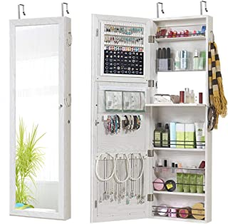 over-the-door jewelry valet storage organizer