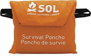 Adventure Medical Kits Emergency Longer Poncho Perfect for Outdoors Hiking & Survival 2.3 Ounce