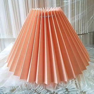 Hrezall Abat-Jour Plis pour Lampe de Table lampadaires sur Pied Style coréen Abat-Jour plissé Mignon Abat-Jour de Lampe de...