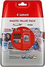 Canon CLI-551XL Photo Value Pack C/M/Y/BK PP-201 10x15, 6443B006 (Pack C/M/Y/BK PP-201 10x15 cm 50 Sh.)