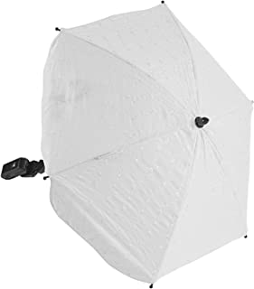 For-Your-Little-One BA Parasol Compatible with BA Jogger City Mini GT, White