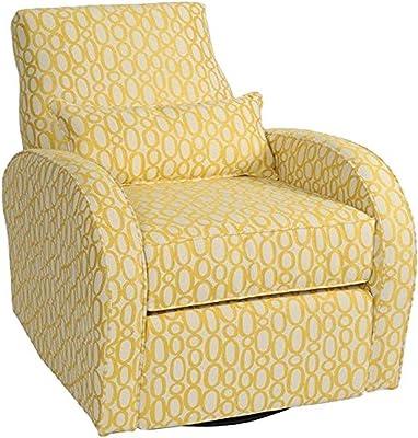 LCFC HOME Amelia Recliner, Yellow Petals