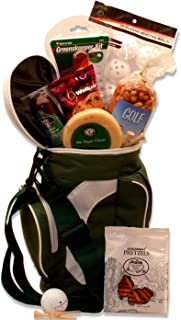 Golfing On The Go! Drink Cooler and Snacks Gift Basket