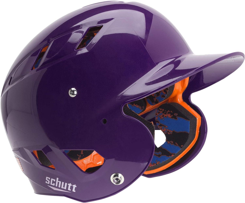 Schutt Baseball-and-Softball-Batting-Helmets AiR 5.6 Softball Batting Helmet with Advanced D30 Padding