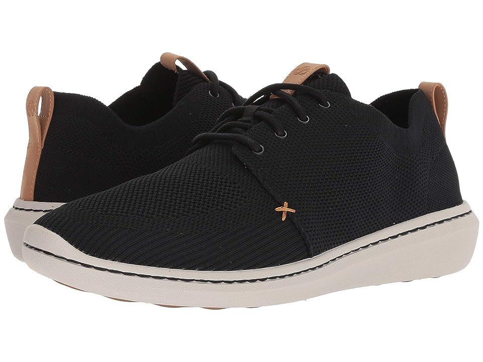 Clarks Step Urban Mix (Black Textile Knit) Men