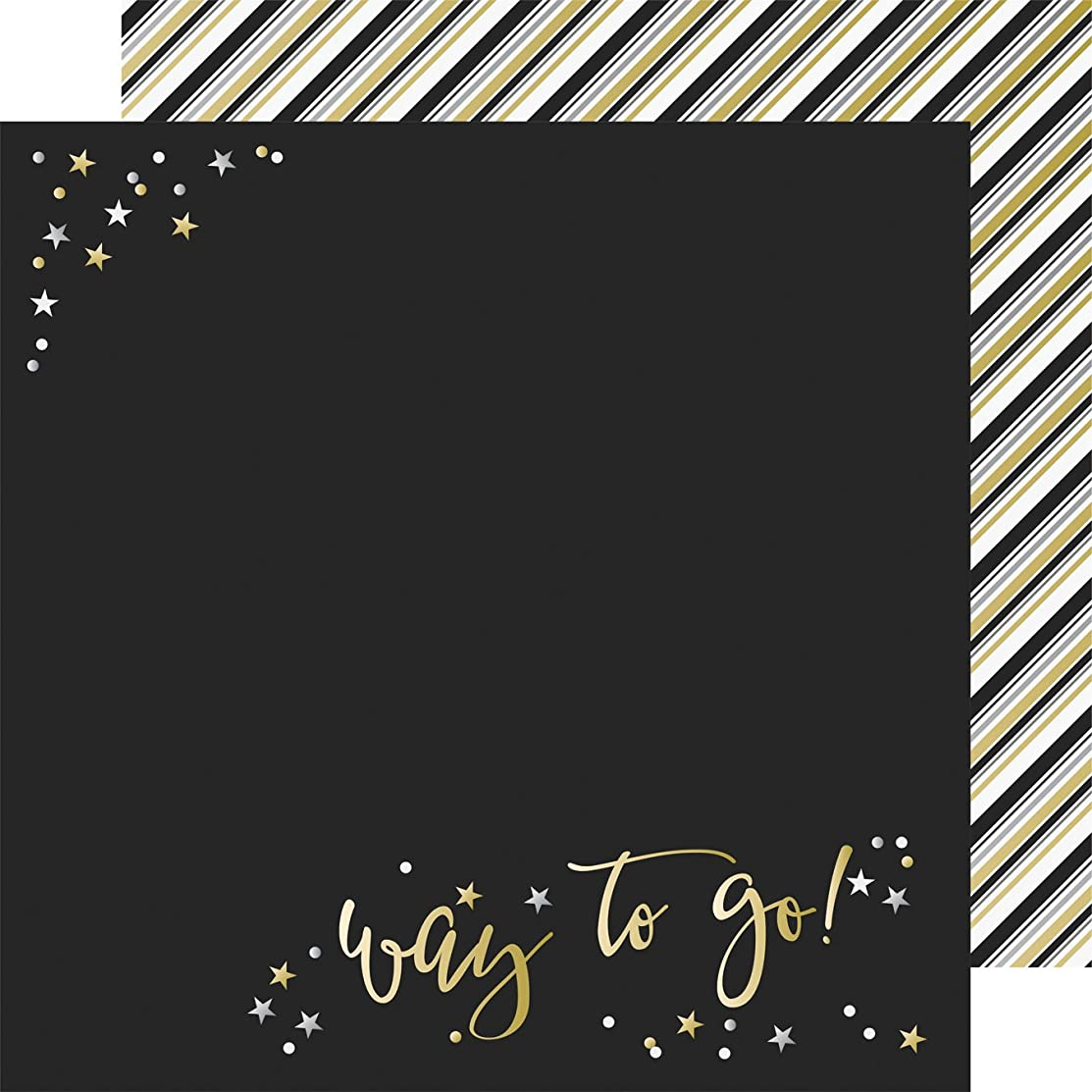 Simple 10174 Sets Rad Grad Double-Sided Cardstock 12