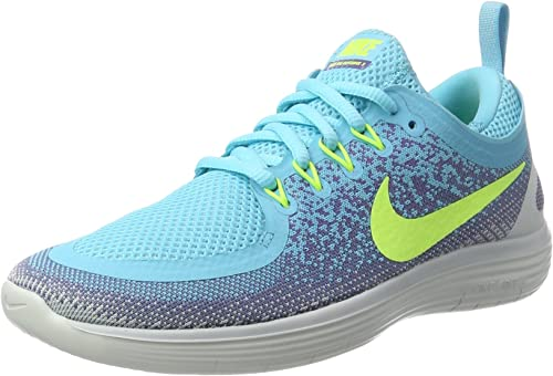Nike Wohommes Free RN Distance 2 Running, Chaussures de Fitness Femme