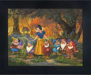 """Snow White 3D Poster Wall Art Decor Framed 