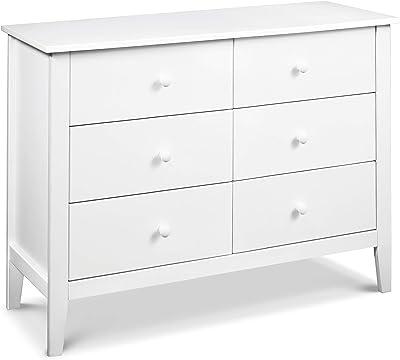 Carter's by Davinci Morgan 6-Drawer Dresser in White