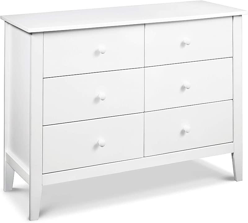 Carter S By Davinci Morgan 6 Drawer Dresser White