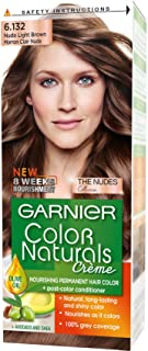 Garnier Garnier Color Natural nudes kit 6.132 Nude Light Brown Haircolor60 ml;Garnier Color Natural nudes kit 6.132 Nude L...