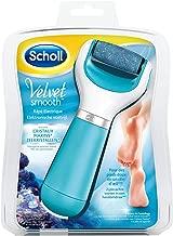 Scholl Velvet Smooth - Râpe électrique pieds (recharge incluse) - Bleu