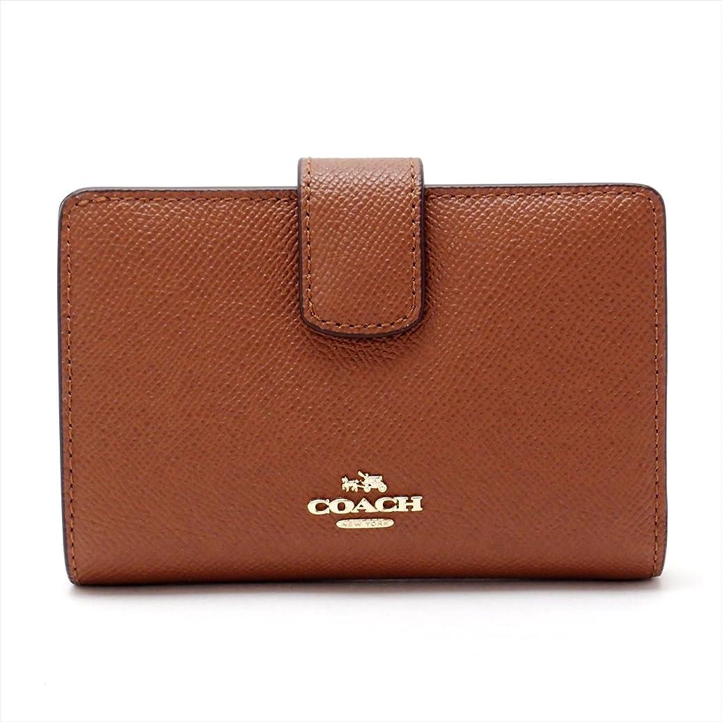 教育最大限成長するコーチ 財布 レディース 二つ折り財布 レザー 54010IMSAD [アウトレット品] [並行輸入品]