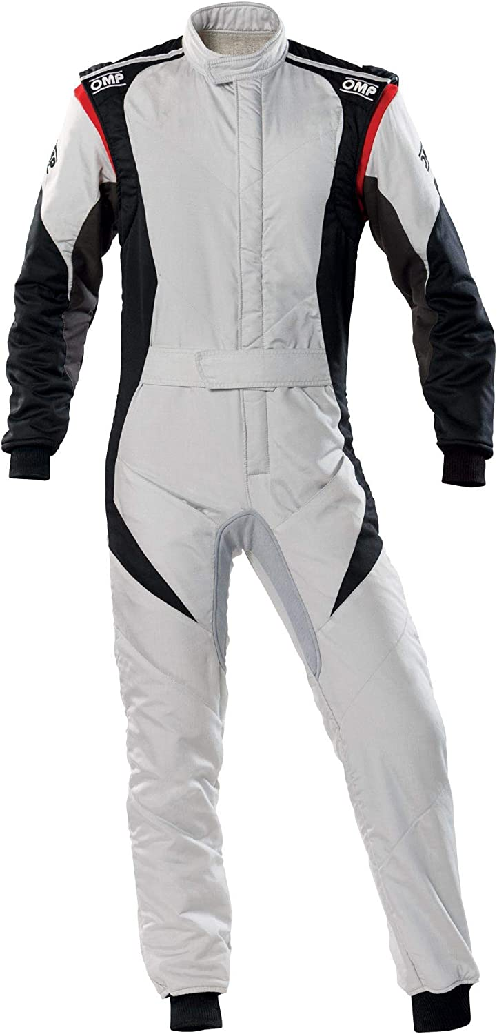 Nippon regular agency OMP Dealing full price reduction FIRST EVO RACING 50 BLACK SILVER SUIT