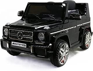 MARTIN RANGER Licensed G65 Mercedes-Benz, Kids Ride on Powered Car 12V & Remote Controller, Black