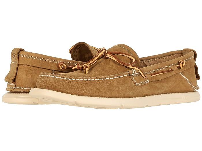 UGG  Beach Moc Slip-On (Caramel) Mens Shoes