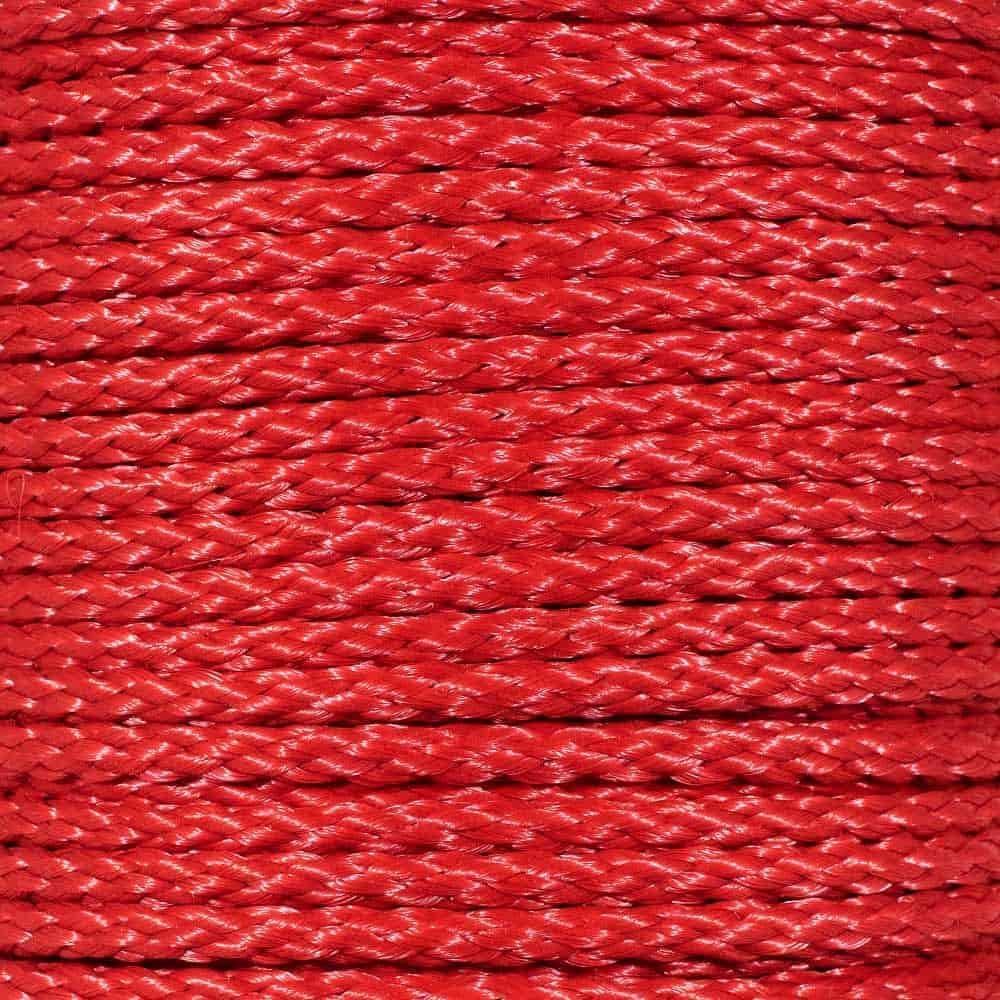 Hollow Braid Polypropylene Rope 3 8 Red - Barr Tucson Mall Inch Feet 55% OFF 500