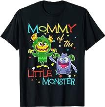 Funny Family Tshirt Mommy Monster Shirt For Women