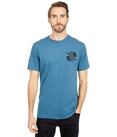 The North Face Double Dome Short Sleeve Tee (Mallard Blue) Men