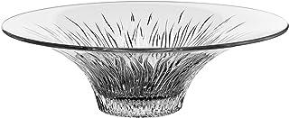 طبق زجاج لتقديم الطعام - شفاف