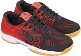 wrooker Badminton Shoes for Men (Non Marking Sole)