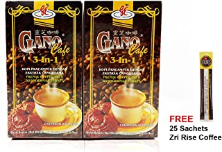 Sponsored Ad - 2 Boxes GanoCafe 3 in 1 Ganoderma Healthy Latte Coffee FREE Zrii Rise Coffee