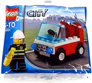 LEGO City Exclusive Mini Figure Set #30001 Firemans Car Bagged