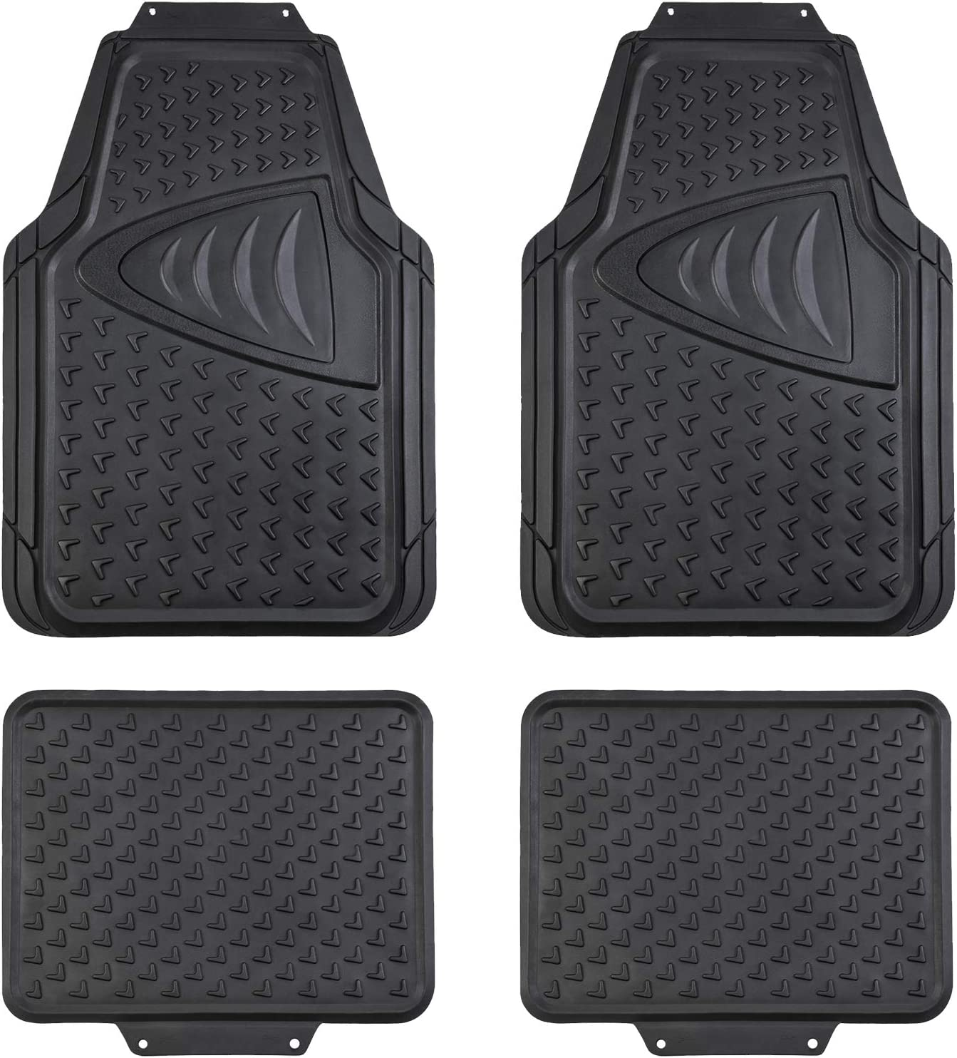 35% OFF August Auto Universal Fit All Weather Max 56% OFF Car Rubber Set of Flo 4pcs