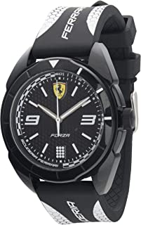 Scuderia Ferrari Casual Watch for Unisex, Silicone, 830519