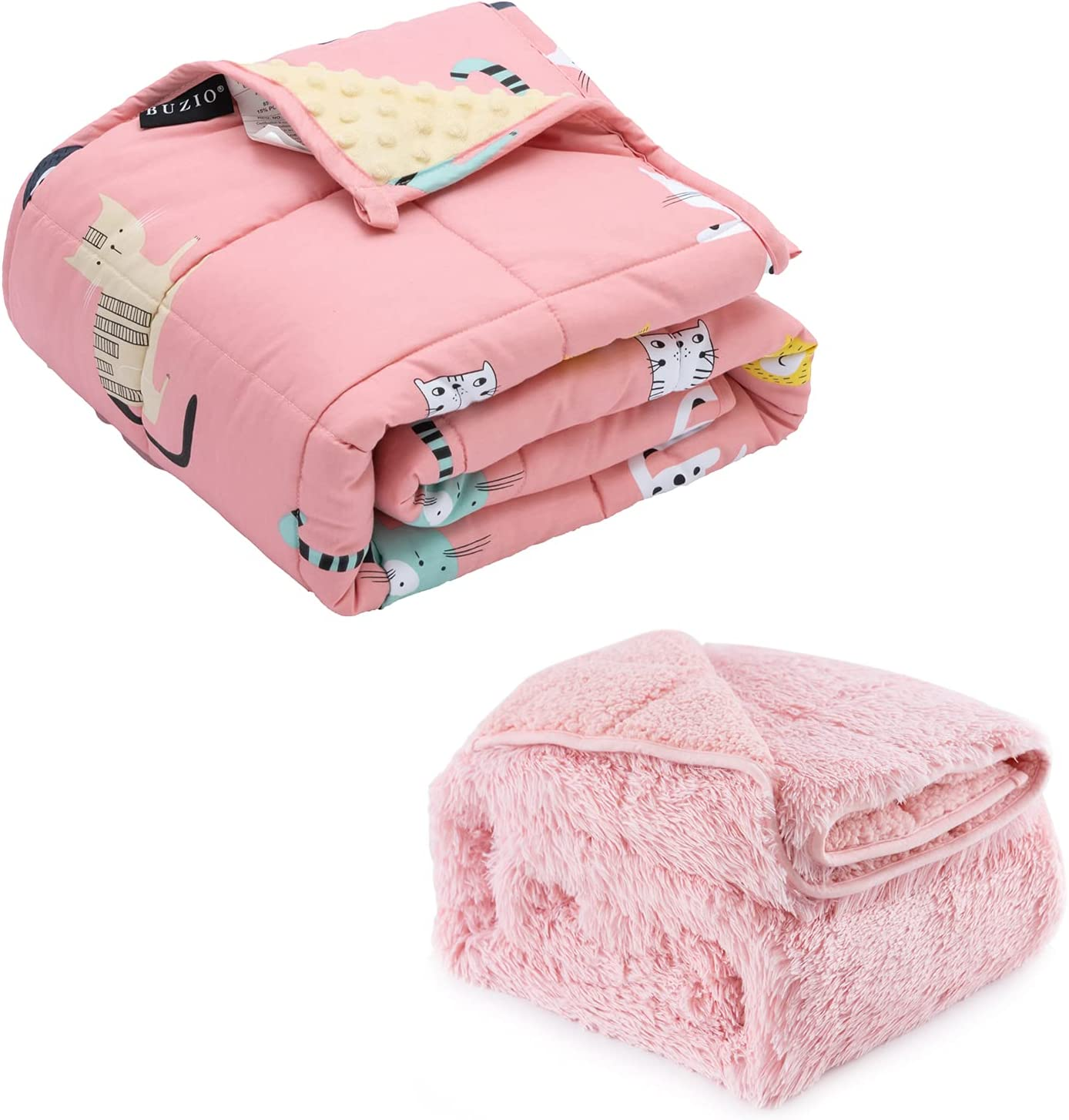 Weighted Blanket 3 High quality lbs for Kids Cozy Fleece and Max 66% OFF Cot Ultra Minky
